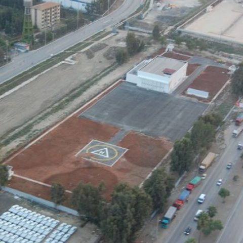 Coast Guard Helicopter Hangars – Mersin